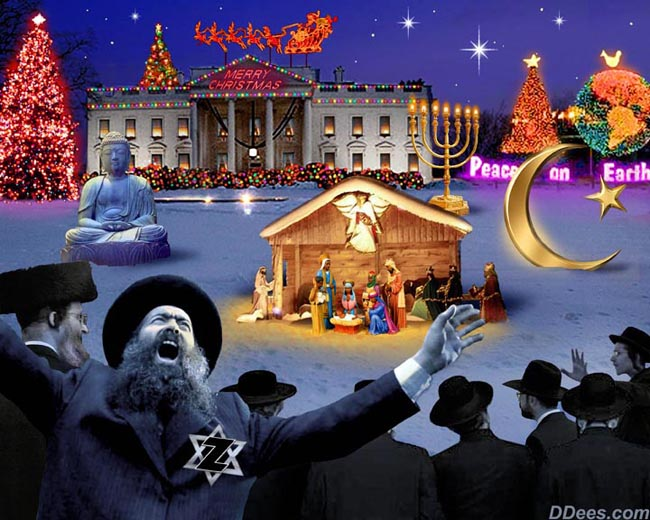 how the jews stole christmas - Jews On Christmas